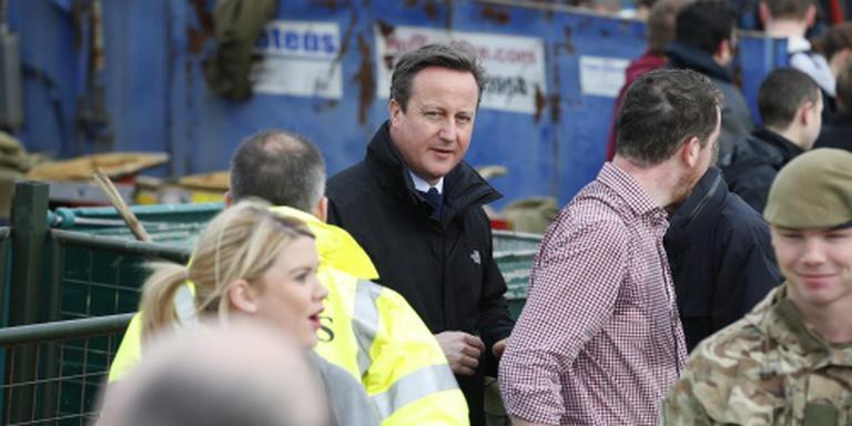 Cameron: 40 miljoen pond tegen overstromingen