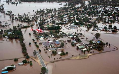 Brandbrief uit Australië: 'Het is een zwembad hier'