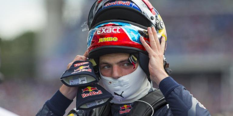 Max Verstappen tevreden met vierde startplek