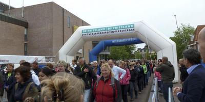 Loop Leeuwarden koud van start