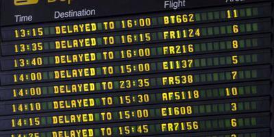 Drone verlamt vliegverkeer in Dublin even