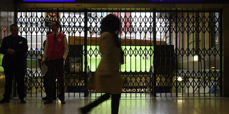 Metro Londen gaat 's nachts rijden in weekend