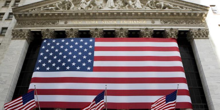 Wall Street in het groen