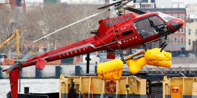 Crash met heli mogelijk door fout passagier