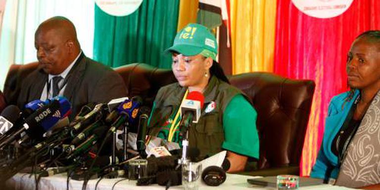 Mnangagwa uitgeroepen tot winnaar in Zimbabwe