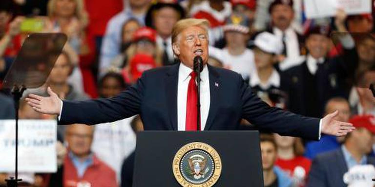 Trump prijst zichzelf na verkiezing