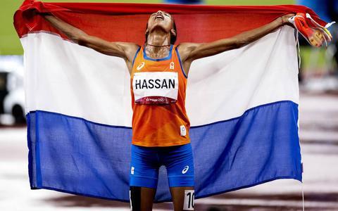 De olympische koningin van Nederland Sifan Hassan.