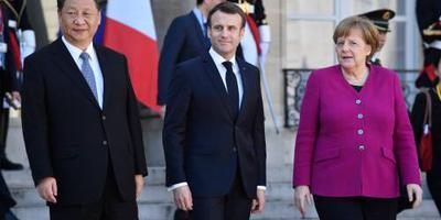 Macron: Europa moet met China samenwerken