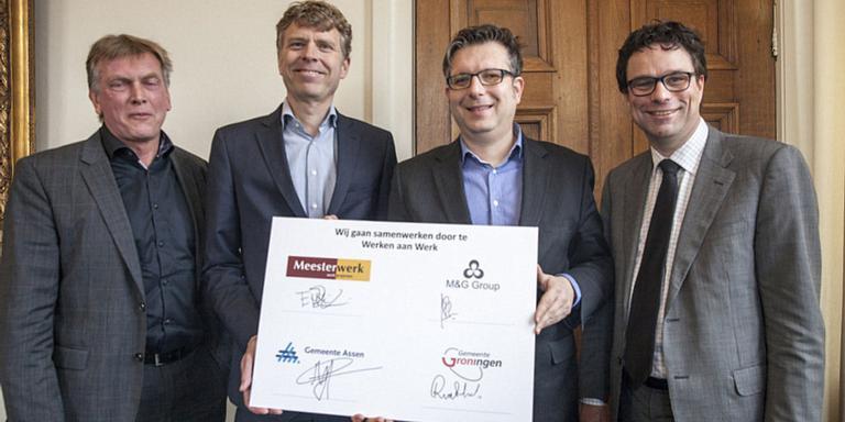 70 leerwerkplekken in Assen en Groningen