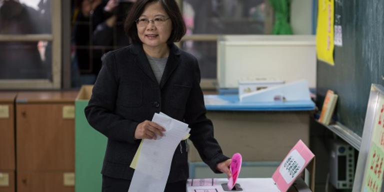 Oppositie wint verkiezingen Taiwan