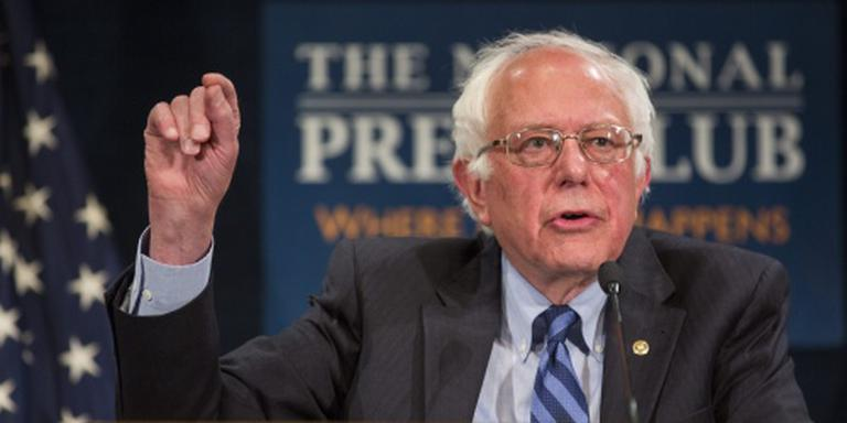 'Sanders wordt dure president'