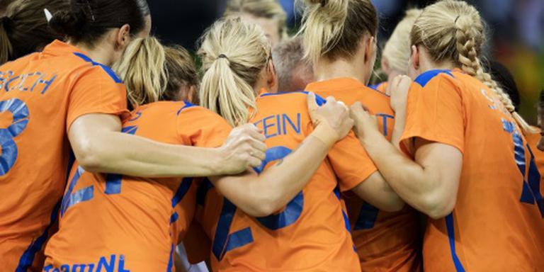 Handbalsters in halve finale tegen Frankrijk