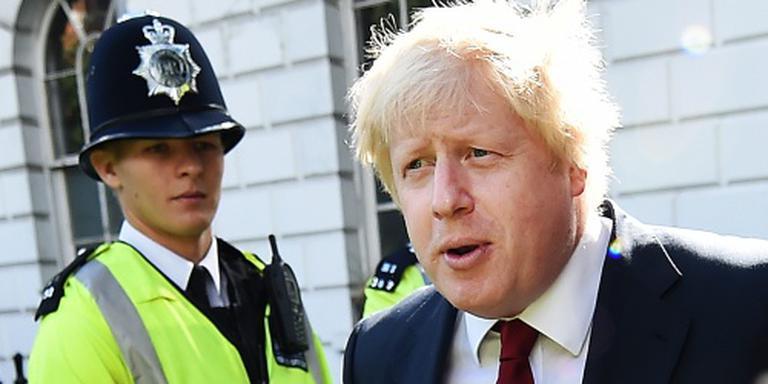 Johnson: geen haast met uittredingsoverleg