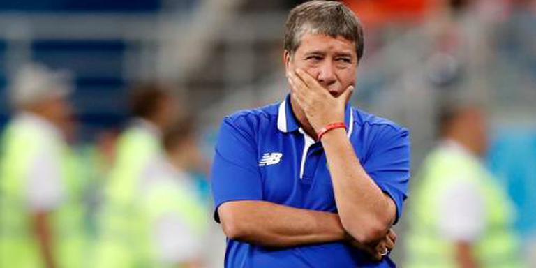 Bondscoach verlaat voetballers Panama