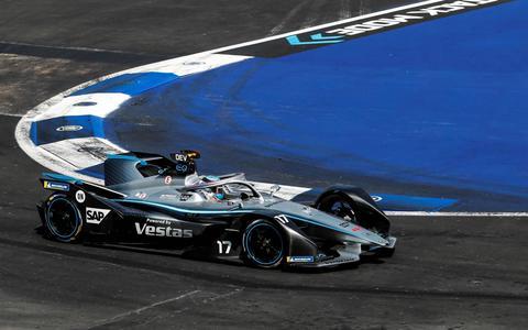 Puntloos weekeinde in Formule E voor balende Nyck de Vries