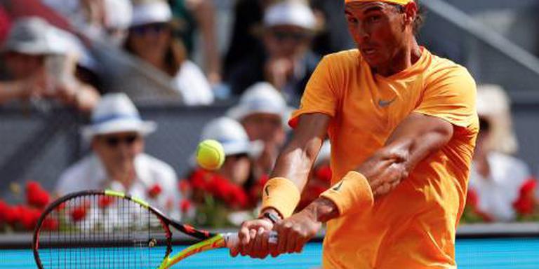 Goede start Nadal, Thiem al uitgeschakeld
