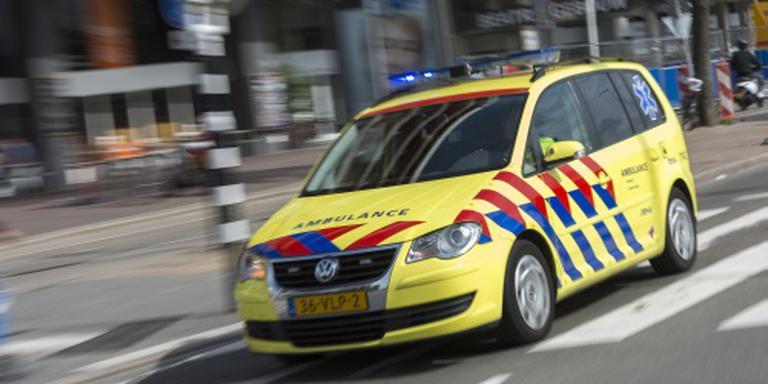 Gewonden door omvallen heistelling Amsterdam