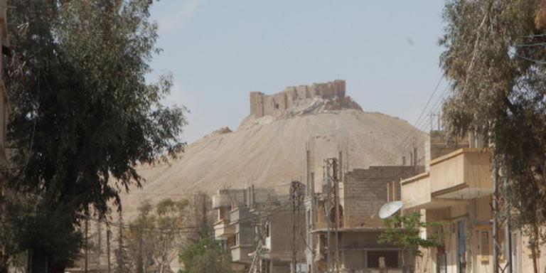 Russische mineurs aangekomen in Palmyra