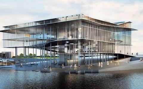 Bezwaren: Werelderfgoedcentrum Lauwersoog wordt te hoog