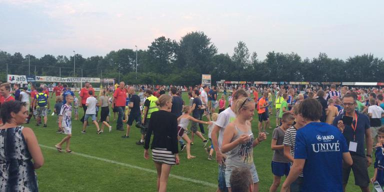 Heerenveen startte in 2015 tegen Buitenpost. Het won met 0-9.
