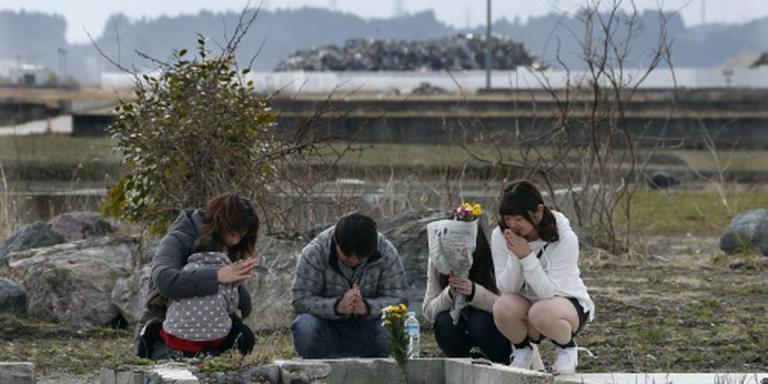 Japanners herdenken doden tsunami