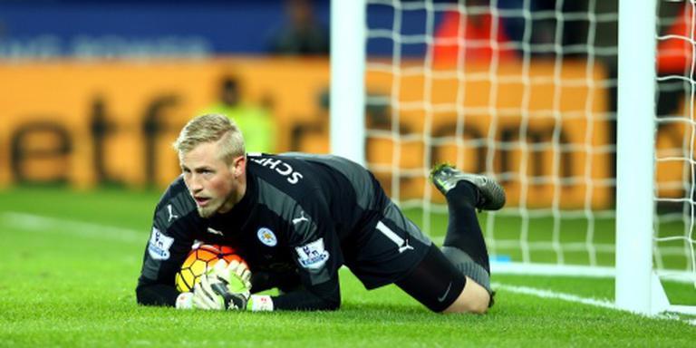 Schmeichel blijft Leicester City trouw