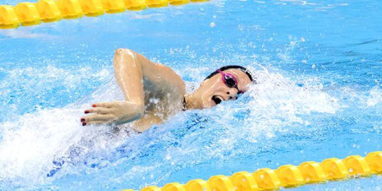 Zwemsters vierde op de 4x100 vrij