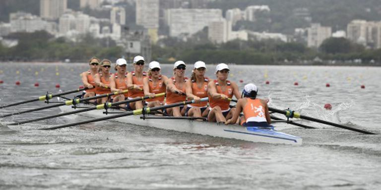 Vrouwen acht laatste in olympische finale