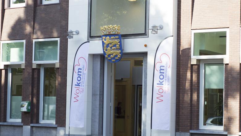Het provinciehuis in Leeuwarden. FOTO LC/JOSHI KUIPER