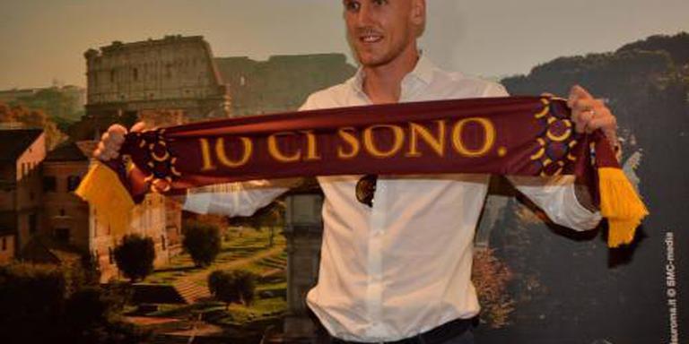 Doelman Olsen officieel naar AS Roma