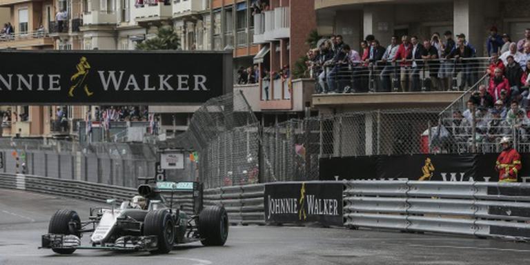 Hamilton de snelste in Grand Prix van Monaco