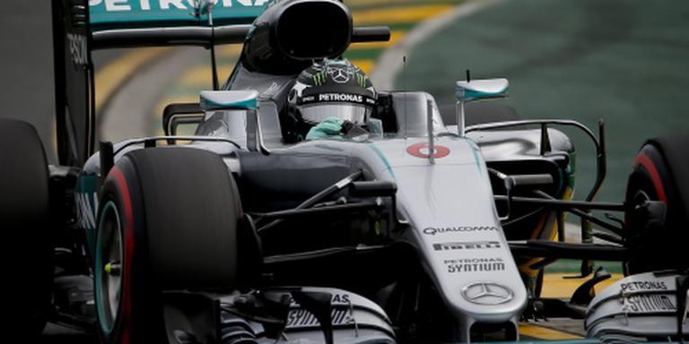 Rosberg wint in Melbourne, Verstappen tiende