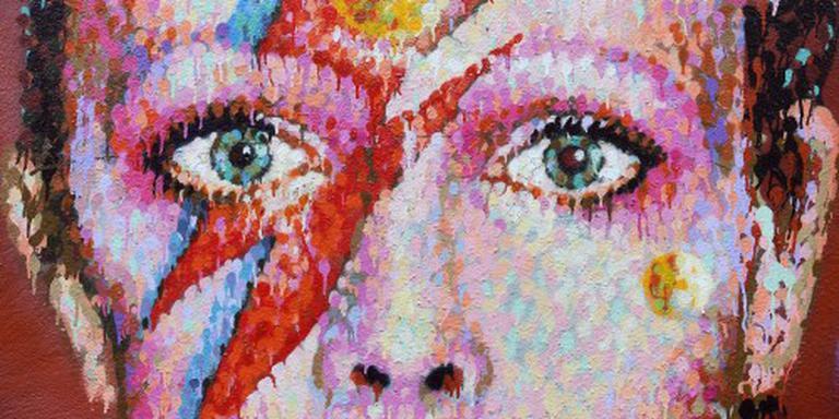 Kunstcollectie David Bowie geveild