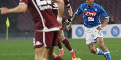Napoli en Torino kunnen niet scoren