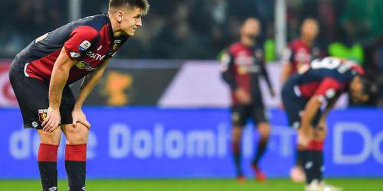 Genoa na strafschoppen uit beker
