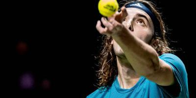 Tsitsipas treft Goffin in Marseille