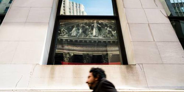 Wall Street opent in de plus