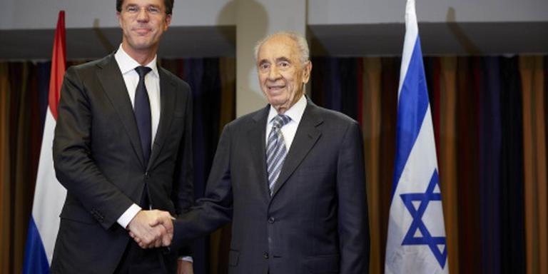 Rutte: Peres maakt diepe indruk op mij