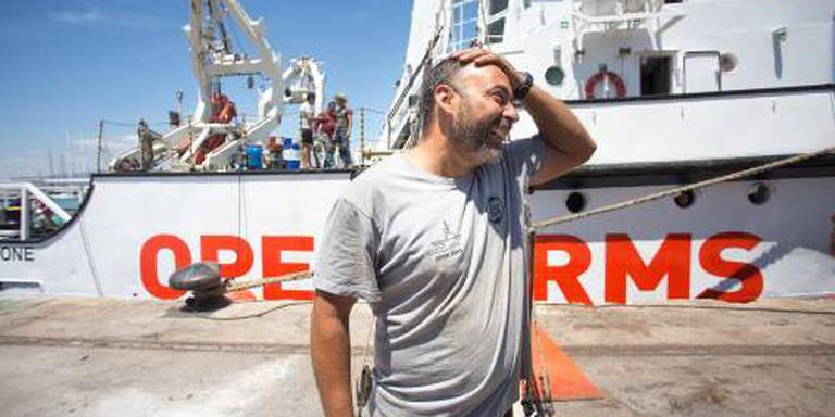 Weer schip vol migranten op weg naar Spanje