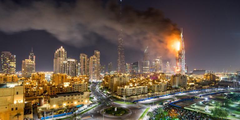 Onduidelijkheid na brand in luxehotel Dubai