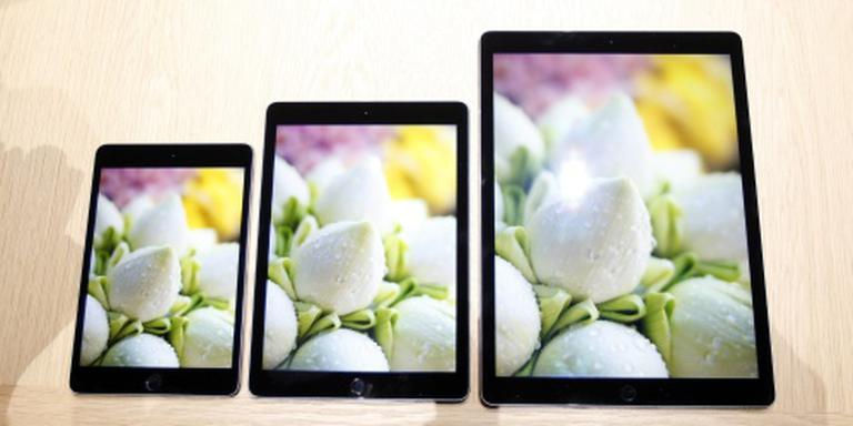 Apple groeit in krimpende tabletmarkt