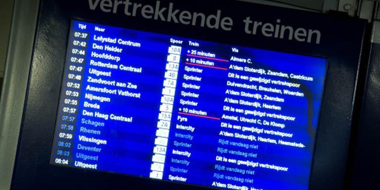 Geen reisinfo op NS-stations