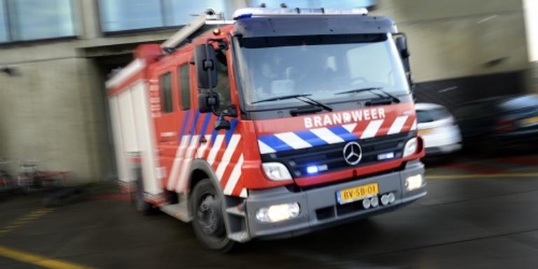 Ontruiming en stroomstoring in Houten na brand