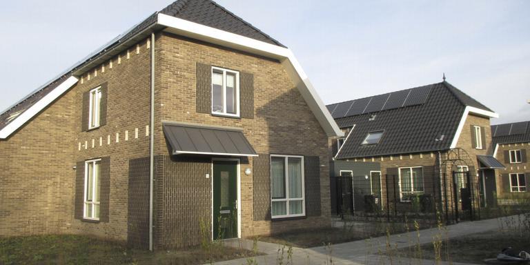 Het sfeervolle nieuwe tuindorpje van Schieringen-Zuid in Leeuwarden.
