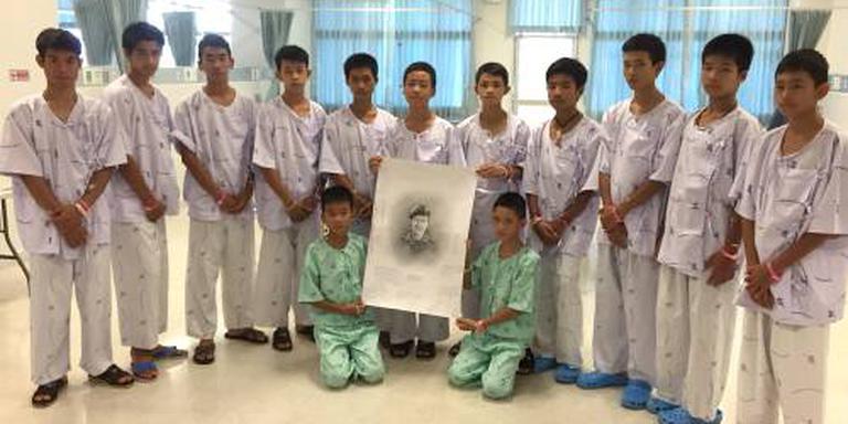 Thaise voetballers woensdag uit ziekenhuis