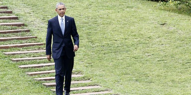 Obama legt krans in Hiroshima