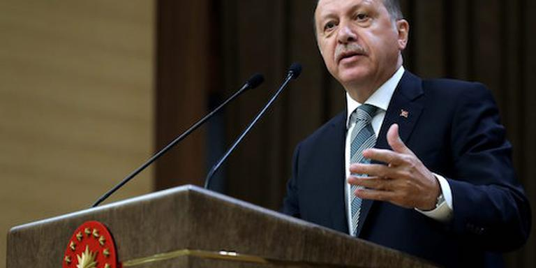 'Erdogan bij eerste zitting nieuwe regering'