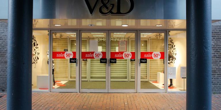 Warenhuizen van V&D gaan tijdelijk open
