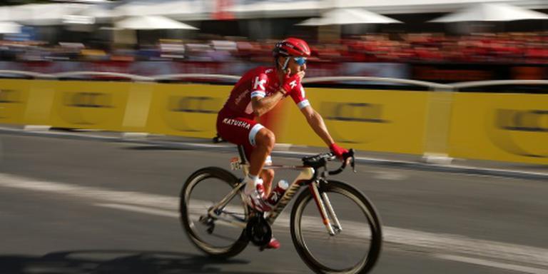 Gestopte Rodriguez toch weer op de fiets