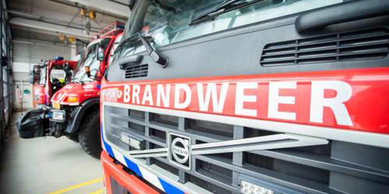 Brandweer rukt uit voor brand Brunsummerheide
